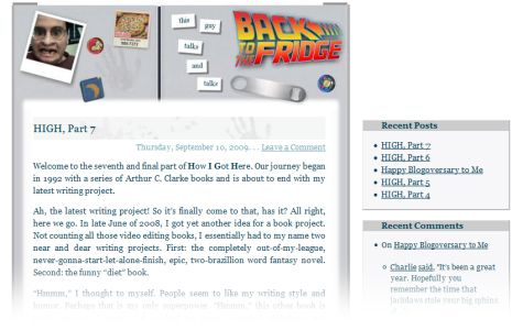 screenshot of version 4 of the web site