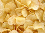 picture of potato chips / crisps