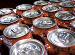 picture of soft drink cans