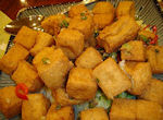 picture of fried tofu