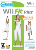 Wii Fit Plus box cover